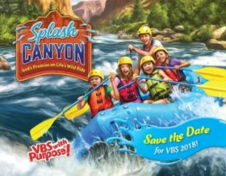 VBS 2018 Splash Canyon!